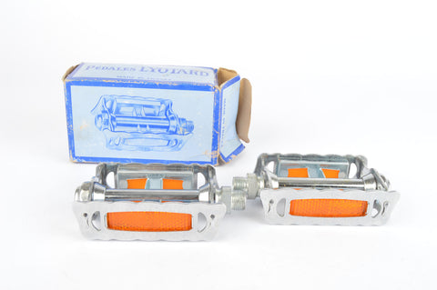 NEW Lyotard 136R pedals with english threading from the 1970-80s NOS/NIB