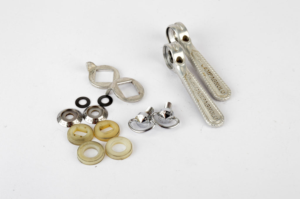 NEW Campagnolo #1014 Record braze-on shifters from The 1980s NOS