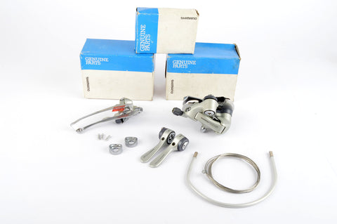 NEW Shimano 105 #RD-1056 #FD-1056 #SL-1056 Shifting Set from the 1990s NOS/NIB
