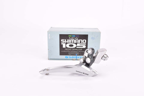 NOS/NIB Shimano New 105 #FD-1050 braze-on front derailleur from the late 1980s
