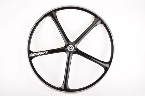"single 28"" rear Aerospoke Wheel made from Carbon and Aluminium"