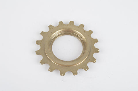 NOS Sachs Maillard #IY steel Freewheel Cog, double threaded on inside, with 16 teeth from the 1980s - 90s