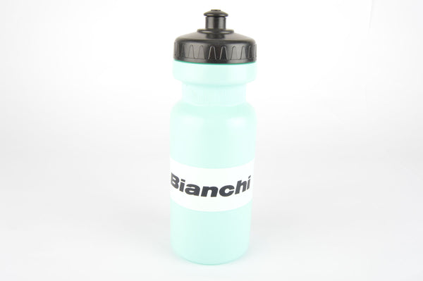 NOS Bianchi water bottle in celeste/white from the 1990s