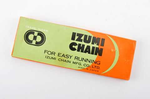 "NEW Izumi Chain 1/2inch X 3/32"" for 5/6-speed from the 1980s NOS/NIB"