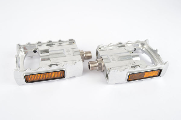 MKS FD-7 folding pedals with english threading in silver