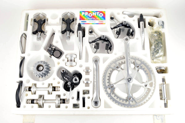 NEW Ofmega Mistral Groupset featuring Universal and Regina from the 80s NOS/NIB