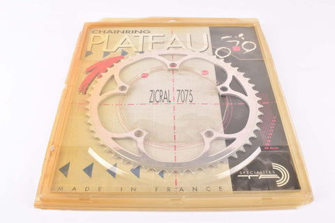 NOS Specialites TA chainring with 53 teeth and 135 BCD from the 1990s