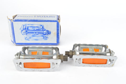 NEW Lyotard 136R pedals with french threading from the 1970-80s NOS/NIB