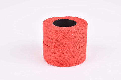 NOS red Agu Sport cotton handlebar tape (2 rolls)