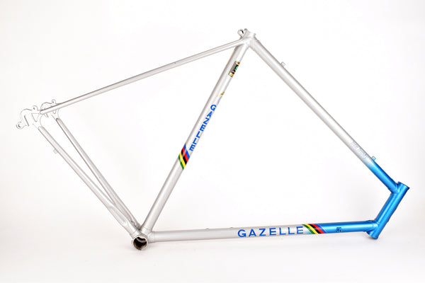 NOS Gazelle Trim Trophy frame in 60 cm (c-t) / 58.5 cm (c-c) with Reynolds 531 tubes