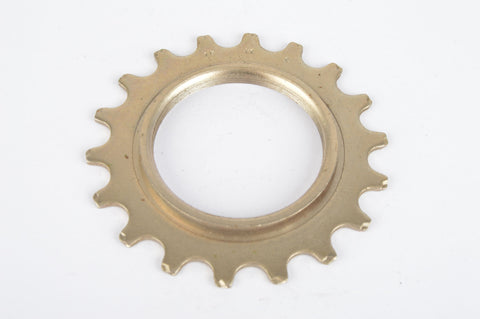 NOS Sachs Maillard #FY steel Freewheel Cog, threaded on inside, with 18 teeth from the 1980s - 90s