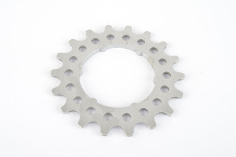 Campagnolo Super Record #N-18 Aluminium Freewheel Cog with 18 teeth from the 1980s
