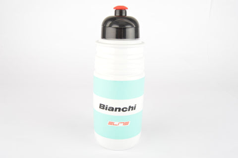 NOS Elite Bianchi water bottle in celeste/white from the 1990s