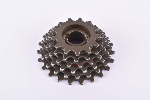 Maillard 700 Course Professional aluminum alloy (dural) 6-speed Freewheel with 13-23 teeth and english thread from 1985