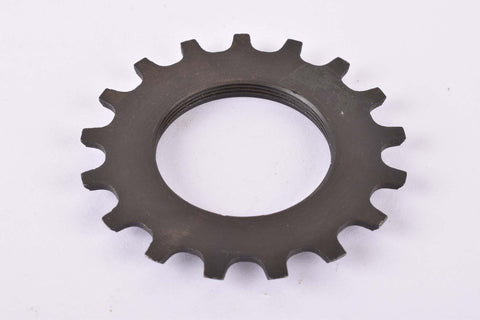 NOS Shimano 600 #1241715 Cog with 17 teeth threaded on inside (#BC40) in black from the 1970s