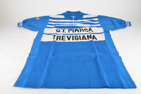 NOS De Marchi C.T. Marca Trevigiana short Sleeve Cycle Jersey with 3 Back Pockets in Size L