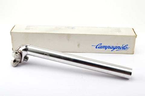 NEW Campagnolo silver polished Centaur MTB seatpost in 26.4 diameter from the 1990s NOS/NIB