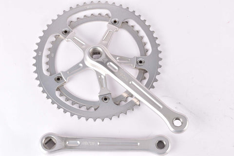 Miche fluted Crankset with 42/52 teeth and 170mm length from the 1980s