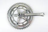 Shimano 600EX Arabesque #FC-6200 crankset with 43/52 teeth and 170 length from 1980