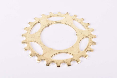 NOS Shimano Dura-Ace #1242420 golden Cog with 24 teeth from the 1970s - 80s
