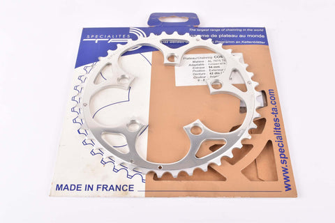 NOS Specialites TA Compact MTB chainring with 42 teeth and 94 BCD from the 2000s