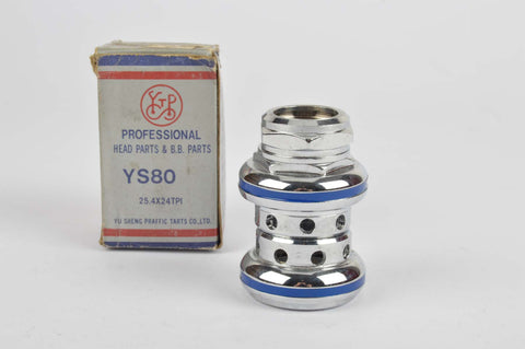 NEW Yu Sheng Professional #YS80 Headset silver/blue with english threading from the 1980s NOS/NIB