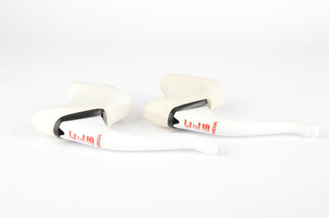 NOS CLB Omega aero Brake Lever set with white hoods, from the 1990s
