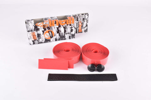 Cinelli Gel Cork Ribbon Handlebar Tape, red