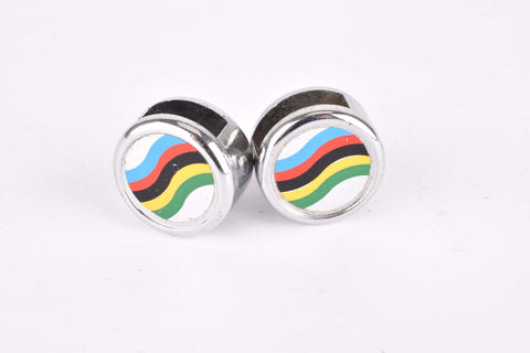 NOS Campione del Mondo Pedal Strap Caps pair from the 1980s