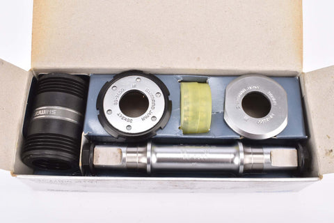 NOS/NIB Shimano Dura-Ace #BB-7400 bottom bracket in 113mm with italian thread from the 1980s - 1990s