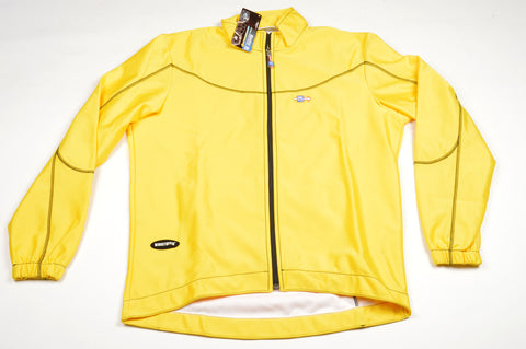 NEW Santini Giacca #713/2-TEAK-GI Windstop Jacket with 1 Back Pocket in Size XL