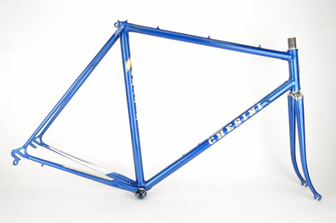 Blue Chesini frame  in 55.5 cm (c-t) / 54 cm (c-c)