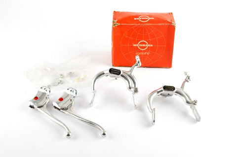 NEW Weinmann Symetric Brake Set with Brake Levers for City Bars from the 1980s NOS/NIB