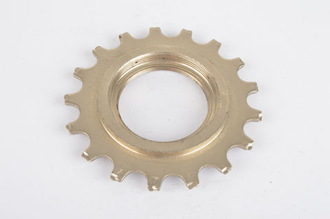 NOS Sachs Maillard #IY steel Freewheel Cog, double threaded on inside, with 17 teeth from the 1980s - 90s