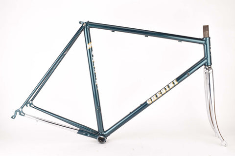 restored Chesini Precision frame  in 55.5 cm (c-t) / 54 cm (c-c), with Columbus tubing