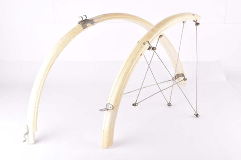 Bluemels Club Special Mudguards in white