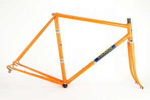 Colnago Super in Molteni orange frame in 54 cm (c-t) / 52.5 cm (c-c) with Columbus tubes
