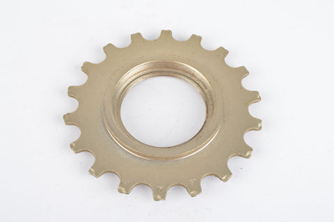 NOS Sachs Maillard #IY steel Freewheel Cog, double threaded on inside, with 18 teeth from the 1980s - 90s