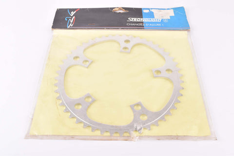 NOS Stronglight chainring with 48 teeth and 122 BCD from the 1980s