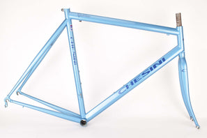 Chesini Gran Premio frame set in 58.5 cm (c-t) / 56.0 cm (c-c) with Dedacciai Zero tubing from the 2000s