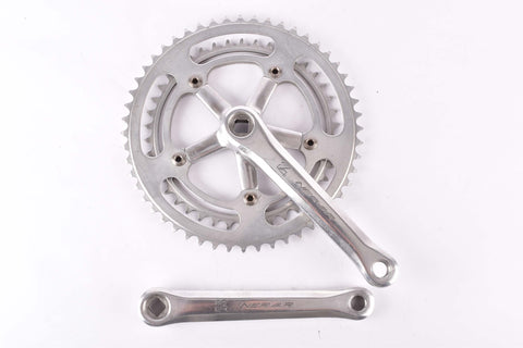 Nervar engraved logo Crankset with 52/42 Teeth and 170mm length from the 1980s