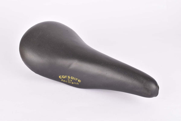 Black Selle San Marco Corsair 313 Saddle from the 1970s / 1980s