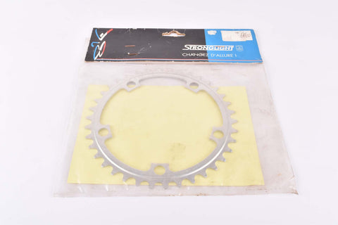 NOS Stronglight chainring with 38 teeth and 122 BCD from the 1980s