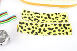NEW Ciclolinea Pelton Graphic handlebar tape in neonyellow/black from the 1980s NOS