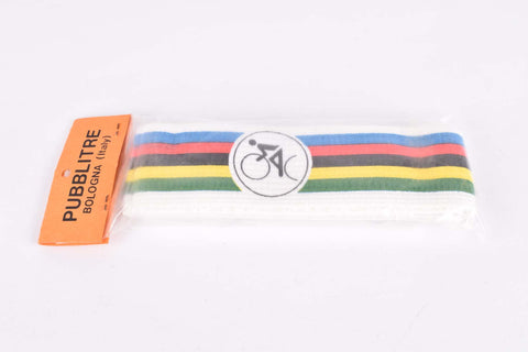 NOS Ciclolinea (by Pubblitre, Italy) Campione del Mondo headband from the 1980s