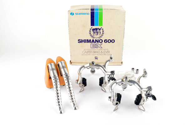 NEW Shimano 600 Arabesque #BL-6200, #BR-6200 brake set from 1978-84 NOS/NIB