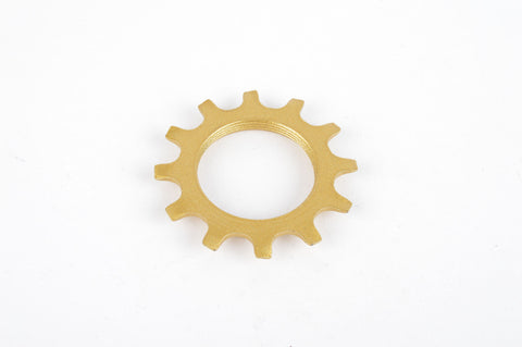 NOS Golden Shimano Dura Ace 6 speed Top Sprocket 12 teeth