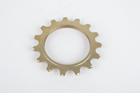 NOS Sachs Maillard #FY steel Freewheel Cog, threaded on inside, with 15 teeth from the 1980s - 90s