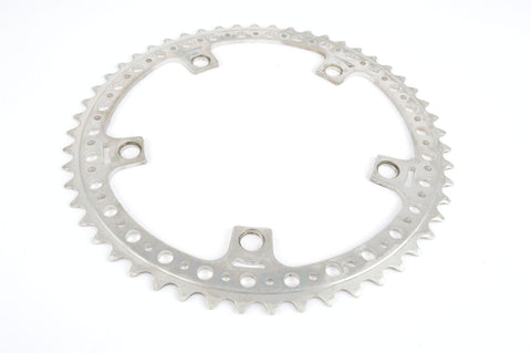 drilled Aluminium 5 bolt Chainring 48 teeth with 144 BCD from 1980s