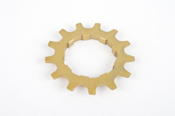 NOS Golden Shimano Dura Ace 6 speed Sprocket 13 teeth
